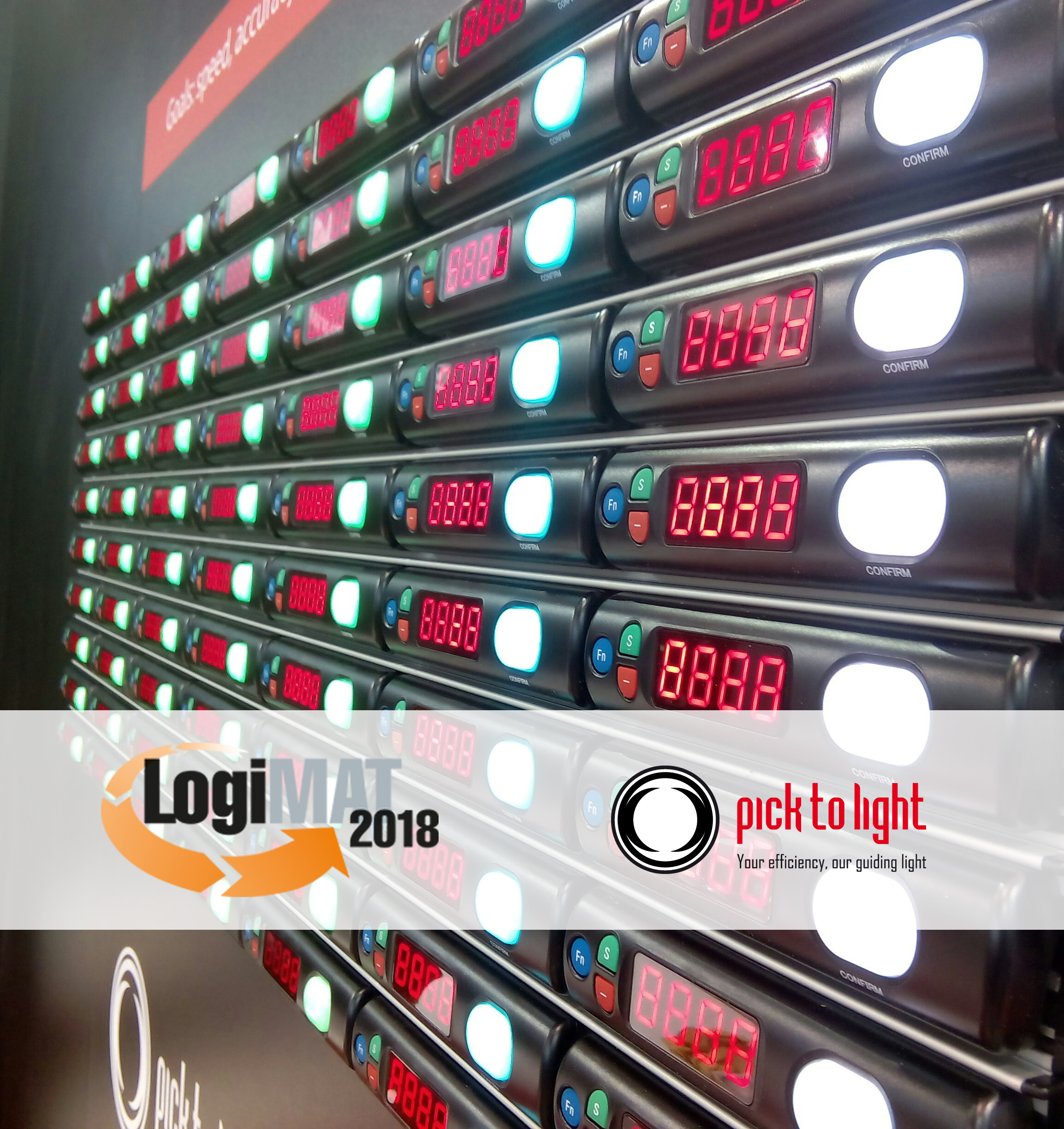 Pick To Light Systems present once again at the 16th edition of LOGIMAT