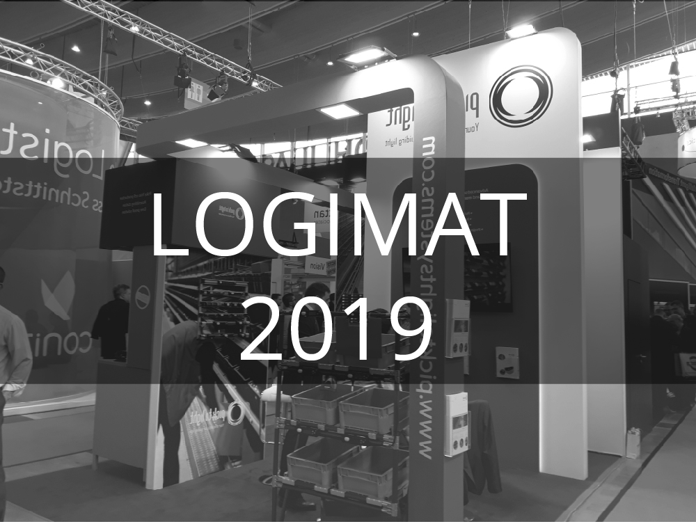 Pick To Light Systems present at the LOGIMAT international trade fair