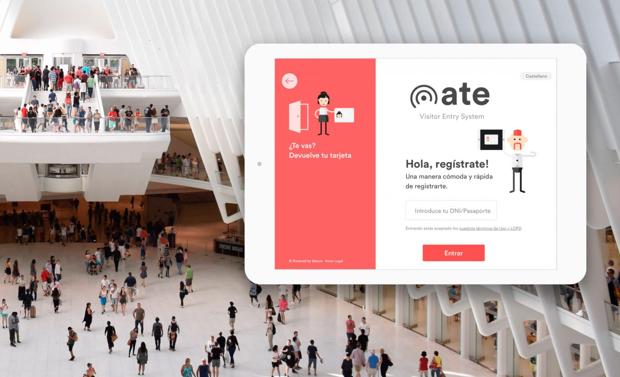ATE — Visitor Entry System